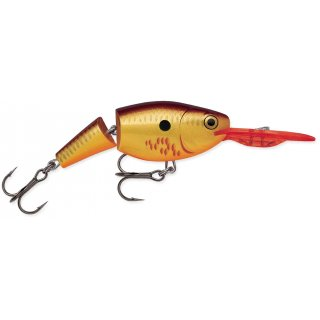 Rapala Wobbler Jointed Shad Rap 7cm JSR07 - BCF - Bleeding Copper Flash
