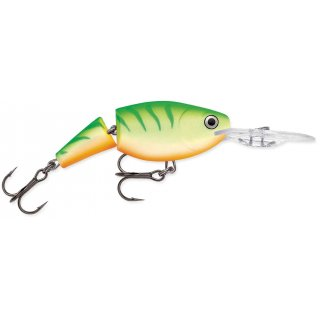 Rapala Wobbler Jointed Shad Rap 7cm JSR07 - GTU - Green Tiger UV