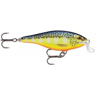 Rapala Shallow Shad Rap 7cm SSR07 - HS - Hot Steel