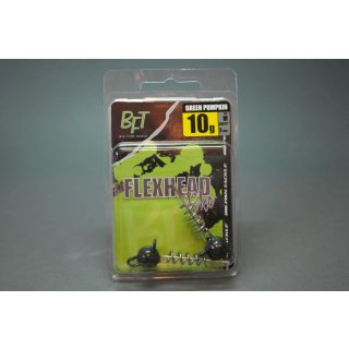 BFT Big Fish Tackle - Flexhead Schraubkopf - green pumpkin - 7gr - 10gr - 15gr - 20gr - 25g neu!